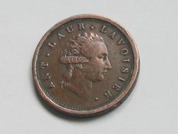 Médaille Ant.Laur.Lavoisier-L'an 9 PH.Gengembre Essayait De Perfectionner Les Monnaies  **** EN ACHAT IMMEDIAT **** - Firma's