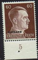 DR, Besetzungen 2.WK, Ostland 1941, MiNr 17, Postfrisch - Occupazione 1938 – 45