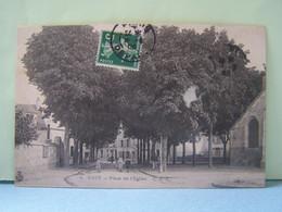"""SUCY (VAL DE MARNE) LES ARBRES PLACE DE L'EGLISE.  100_0580""""b"""" - Sucy En Brie"""