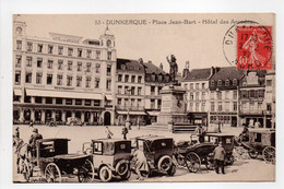 - CPA DUNKERQUE (59) - Place Jean-Bart 1927 - Hôtel Des Arcades (belle Animation) - Edition POLLET N° 53 - - Dunkerque