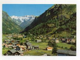 Gressoney (Aosta) - Panorama - Sullo Sfondo Il Monte Rosa - Viaggiata - (FDC25717) - Aosta