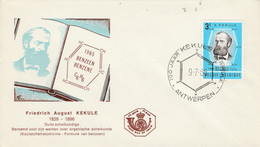 BELGIQUE FDC 1966 FRIEDRICH KEKULE - 1961-70