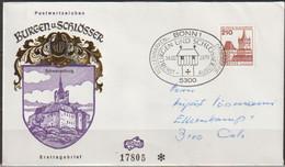 BRD FDC 1978 Nr. 998 Schwanenburg ( D 2641 ) Günstige Versandkosten - FDC: Sobres