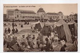 - CPA MALO-LES-BAINS (59) - Le Casino Pris De La Plage (belle Animation) - - Malo Les Bains