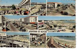 17 ROYAN N°105 En 8 Vues De 1958  M. Berjaud SOLEX Vespa Citroën Tube Traction Peugeot 203 Renault 4CV Frégate - Royan