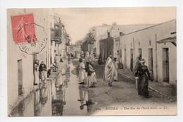 - CPA BISKRA (Algérie) - Une Rue Des Ouled-Naïls 1907 (belle Animation) - Editions Lévy 109 - - Biskra