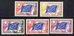 N° S17/215** - CONSEIL DE L'EUROPE - Mint/Hinged