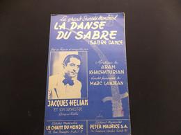 Partition La Danse Du Sabre Jacques Helian - Music & Instruments