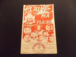 Partition Plaine Ma Plaine Tino Rossi - Music & Instruments