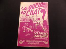 Partition La Queue Du Chat Les Frères Jacques - Music & Instruments