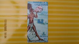 NOUVELLE CALEDONIE / DEPLIANT TOURISTIQUE En Anglais 1953 CARTE - Tourism Brochures