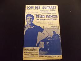 Partition Loin Des Guitares Tango Chanté Tino Rossi - Music & Instruments