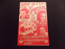 Partition Comme Un P Tit Coquelicot Mouloudji - Music & Instruments