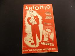 Partition Antonio Andrex Illustrateur Wurth - Music & Instruments
