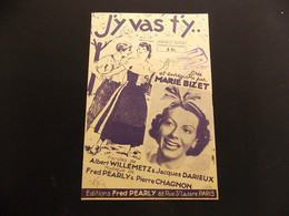 Partition J Y Vas T Y Marie Bizet Illustrateur Ch Roussel - Music & Instruments