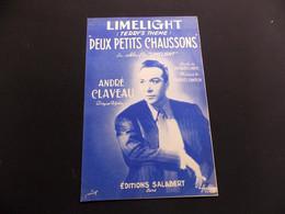 Partition Limelight Deux Petits Chaussons André Claveau - Music & Instruments