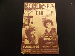 Partition Chanson Gitane Chantée Dans Le Film Cartacalha M José V Romance Ill. Wurth - Music & Instruments