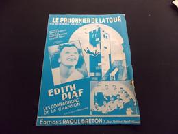 Partition Le Prisonnier De La Tour E Piaf Les Compagons De La Chanson - Music & Instruments
