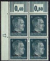 DR, Besetzungen 2.WK, Ukraine 1941, MiNr 3, Postfrisch - Occupazione 1938 – 45