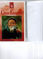 CASSETTES VIDEO  VHS  HIFI  STEREO  SOUS BLISTER    LA CHINE EN TROIS EXEMPLAIRES  LE NORD .LE SUD . PEUPLE ET TRADITION - Travel