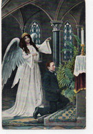 DC4644 - Engel - Postkarte Gest. Auf Sylt - Angeles