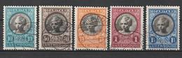Luxemburg 1927  Nr 192/96 G,zeer Mooi Lot Krt 4255 - Collezioni (senza Album)