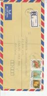 MALAISIE AFFRANCHISSEMENT COMPOSE SUR LETTRE RECOMMANDEE POUR JERSEY 1993 - Malaysia (1964-...)