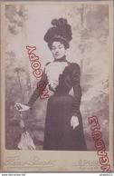 Au Plus Rapide Format Cabinet Remy Gorget Dijon Portrait Femme Chapeau Mode Ombrelle - Anciennes (Av. 1900)
