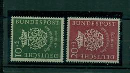 Bund Bachsiegel Nr. 121 - 122 Postfrisch ** - Nuovi