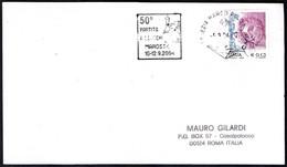 CHESS - ITALIA VENEZIA MARCO POLO 2004 - 50° PARTITA A SCACCHI MAROSTICA - TARGHETTA - Schach