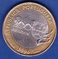 Portugal, 200 Escudos - 1996, Jogos Olímpicos Atlanta - Portugal