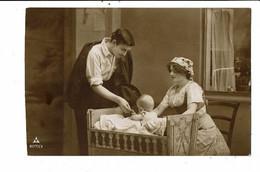 CPA-carte Postale-Pays Bas-Photographie D'un Couple Et De Leur Bébé VM23145br - Couples