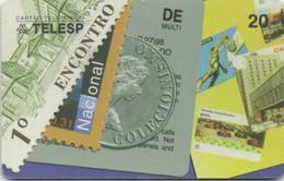 TELESP Brésil : Multi-Collection Timbres + Monnaie + Télécartes 1998 Tirage 200000 - Postzegels & Munten