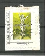 TIMBRE DESTINEO 35 G 89 LA CHABLISIENNE OBLITERE - Personalized Stamps (MonTimbraMoi)