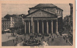 Cartolina  - Postcard /  Viaggiata  - Sent  /  Roma, Il Pantheon. - Pantheon