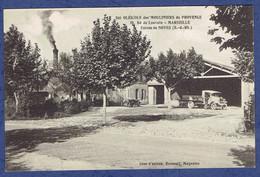 CPA BOUCHES-DU-RHONE (13) - USINES DE NOVES - SOCIETE OLEICOLE DES MOULINIERS DE PROVENCE, 10, Bd DE LOUVAIN, MARSEILLE - Otros Municipios