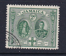 Jamaica: 1945/46   New Constitution    SG135a    2d  [Perf: 12½ X 13]      Used - Jamaica (...-1961)