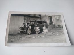 Photo Ancienne 11x7 Voiture Ancienne Animée - Automobili