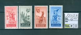781-784  Xx  Côte 16.00€ - Unused Stamps