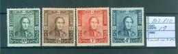 807-810  Xx  Côte 19.00€ - Unused Stamps