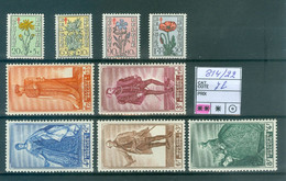 814-822  Xx  Côte 72.00€ - Unused Stamps