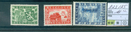 823-825  Xx  Côte 16.00€ - Unused Stamps