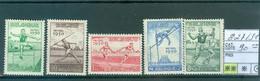 827-831  Xx  Côte 90.00€ - Unused Stamps