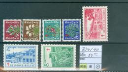 834-840  Xx  Côte 54.00€ - Unused Stamps