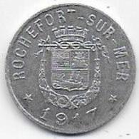 Rochefort Sur Mer - Syndicat Du Commerce Et Industrie - 5 C - Monetari / Di Necessità
