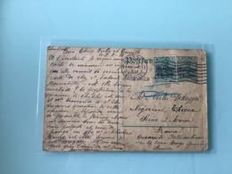 Entier Postal - 8-2-1915 - Duitse Bezetting