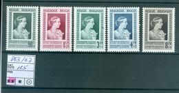 863-867  Xx  Côte 125.00€ - Unused Stamps