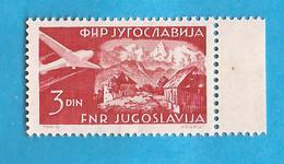 YU 26  1951  646 A  AEREI  FLUGZEUGE SLOVENIA   JUGOSLAVIJA JUGOSLAWIEN   MNH - Slovenia