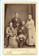 Y17273/ Kabinettfoto Familie Bauck + Lindeman Fotograf: E, Schmid, Stade Ca.1895 - Sin Clasificación