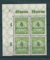 MiNr. 316 **  Oberrand Bogenecke  (0364) - Nuevos